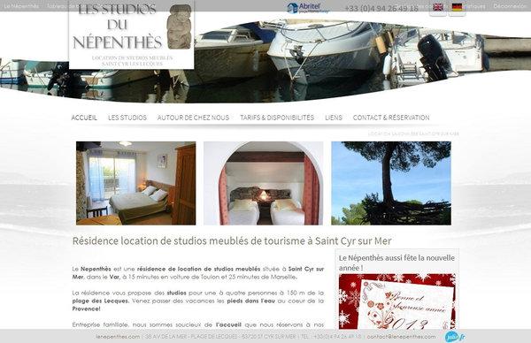Nos r alisations de sites web pour professionnels marseille for Garage citroen saint cyr sur mer