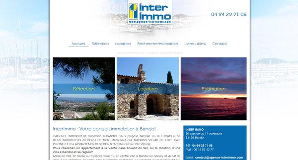 Nos r alisations de sites web pour professionnels marseille for Agence interim paysagiste marseille