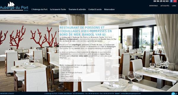 Restaurant gastronomique de poisson bandol auberge du - Auberge dab porte maillot restaurant ...