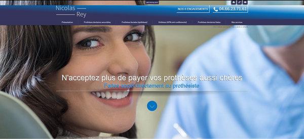 Proth siste dentaire n mes cabinet nicolas rey agence web marseille jalis - Cabinet nicolas marseille ...