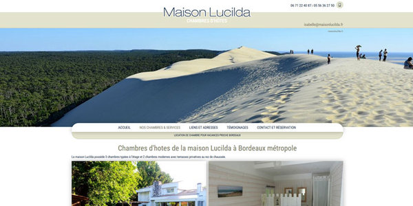 Nos r alisations de sites web pour professionnels marseille for Chambre artisanat bordeaux