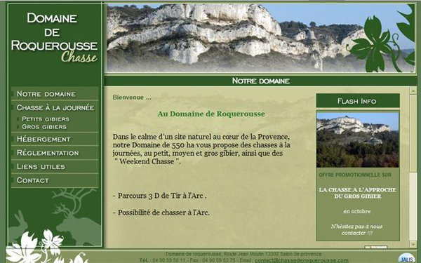 Nos r alisations de sites web pour professionnels marseille - Primevere salon de provence ...