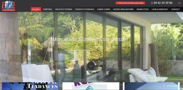 installation de menuiserie sur mesure vers aix en provence cmmc aix agence web marseille jalis. Black Bedroom Furniture Sets. Home Design Ideas