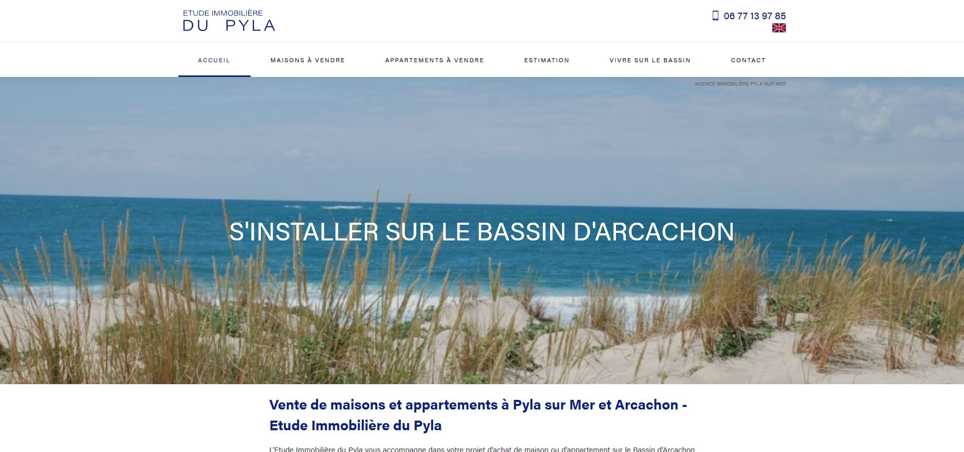 agence immobilière Pyla sur Mer