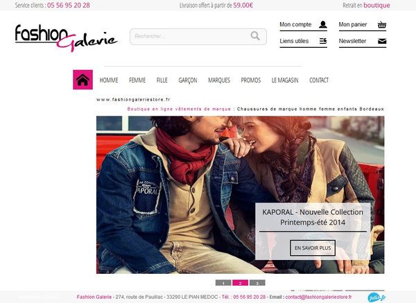 achat en ligne vêtements de marque juniors