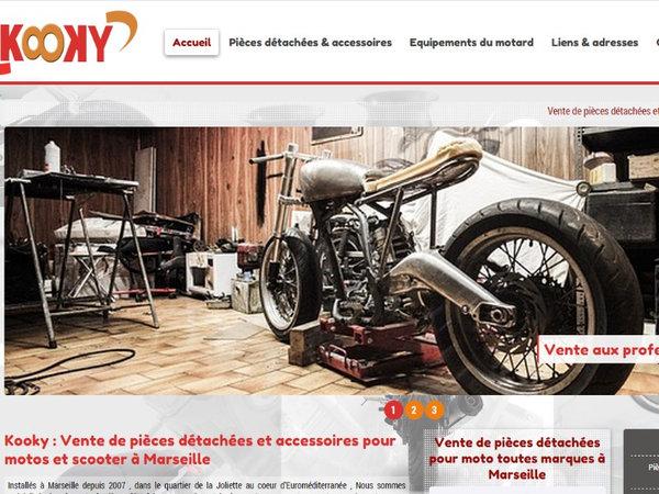magasin de pi ces d tach es et accessoires pour moto et scooter sur marseille kooky site. Black Bedroom Furniture Sets. Home Design Ideas
