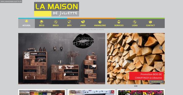 articles de d coration et bricolage libourne la maison de juliette agence web marseille jalis. Black Bedroom Furniture Sets. Home Design Ideas