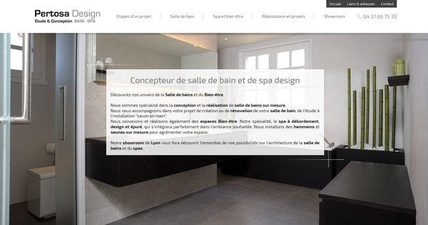 Fabricant De Salles De Bain Contemporaines Et Baln O Lyon Pertosa Design Agence Web