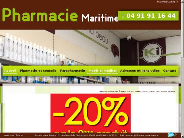 pharmacie et parapharmacie marseille la joliette pharmacie maritime agence web marseille jalis. Black Bedroom Furniture Sets. Home Design Ideas