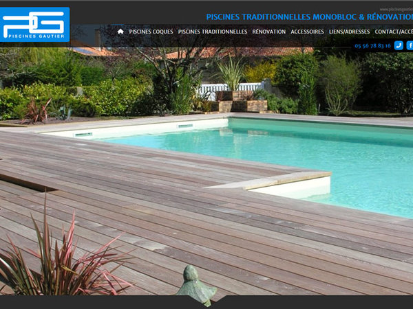 Construction de piscine coque et traditionnelle sur for Construction piscine coque