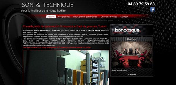 Nos r alisations de sites web pour professionnels marseille for Rachat materiel restauration