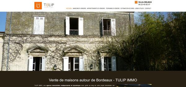 Nos r alisations de sites web pour professionnels marseille for Immobilier professionnel bordeaux