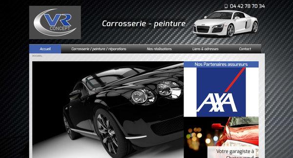 Nos r alisations de sites web pour professionnels marseille - Garage chateauneuf les martigues ...